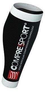 Compressport R2 V2 -  kompresní návleky na lýtka černé T 2