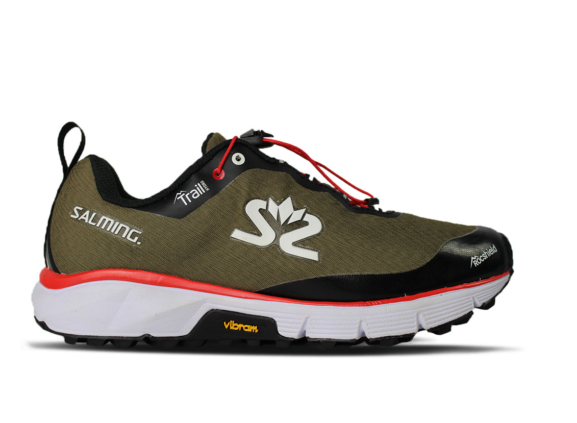Salming Trail Hydro Shoe Women Beige/Black 6 UK - 39 1/3 EUR - 25 cm
