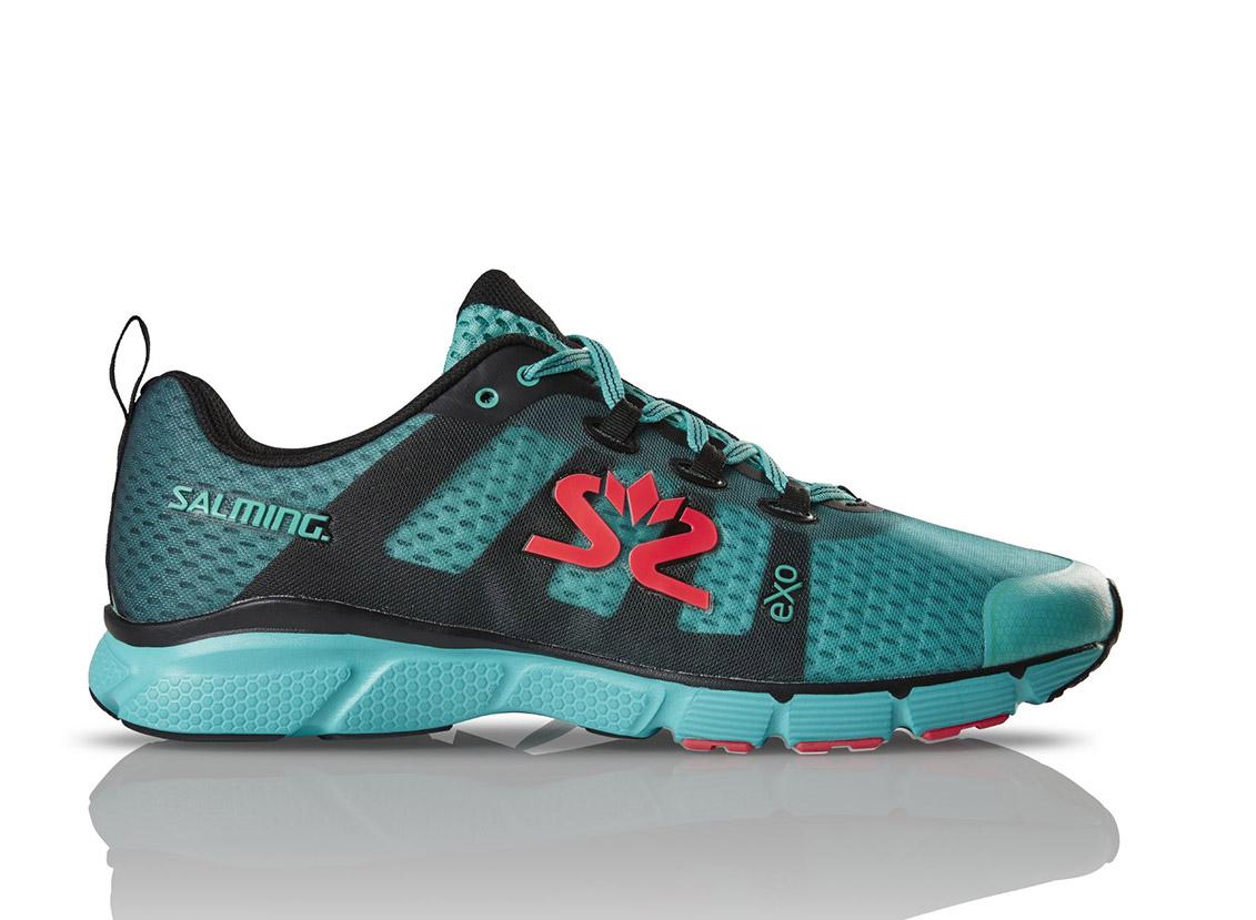 Salming enRoute 2 Shoe Men Green/Black 8,5 UK - 43 1/3 EUR - 27,5 cm