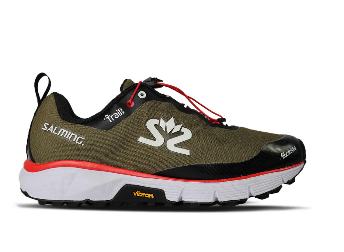 Salming Trail Hydro Shoe Women Beige/Black 7,5 UK - 41 1/3 EUR - 26,5 cm