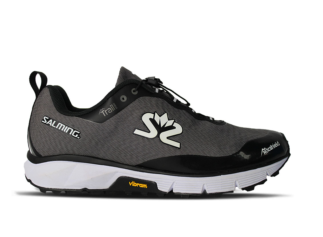 Salming Trail Hydro Shoe Men Grey/Black 10 UK - 45 1/3 EUR - 29 cm