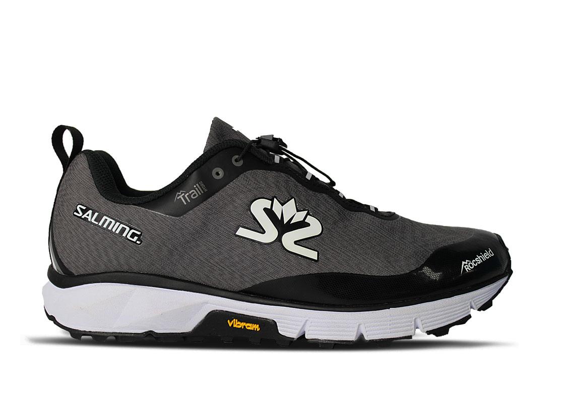 Salming Trail Hydro Shoe Men Grey/Black 12,5 UK - 48 2/3 EUR - 31,5 cm