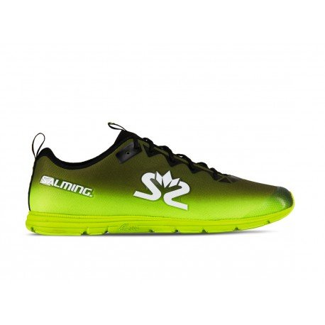 SALMING Race 7 Shoe Men Black/Safety Yellow  40 2/3