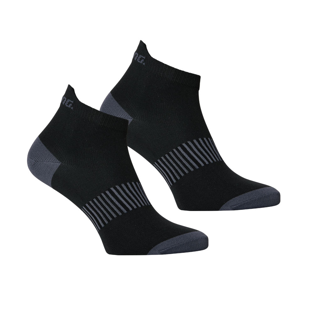 Salming Performance Ankle Sock 2p Black 39-42