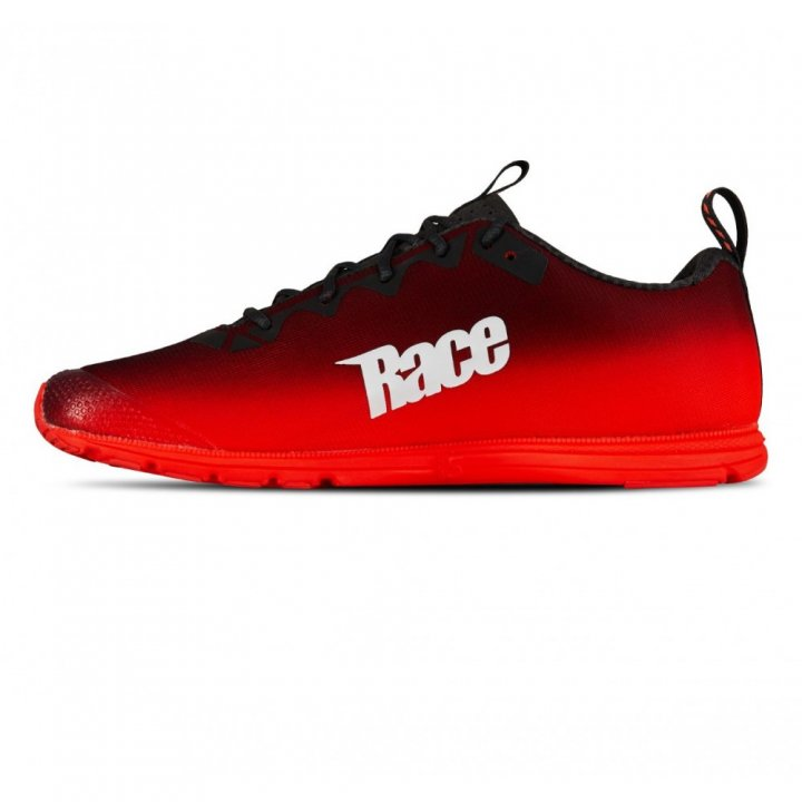 SALMING Race 7 Shoe Women Forged iron/Poppy Red 38