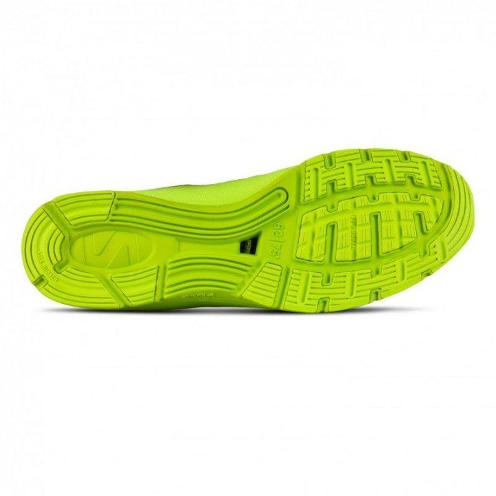 SALMING Race 7 Shoe Men Black/Safety Yellow 42