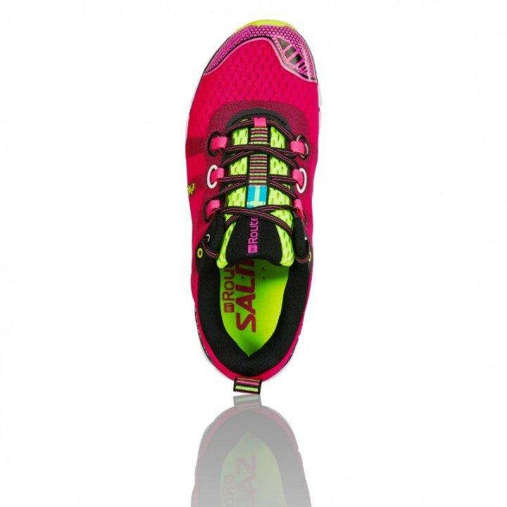 SALMING enRoute Shoe Women Pink Glo  42 2/3