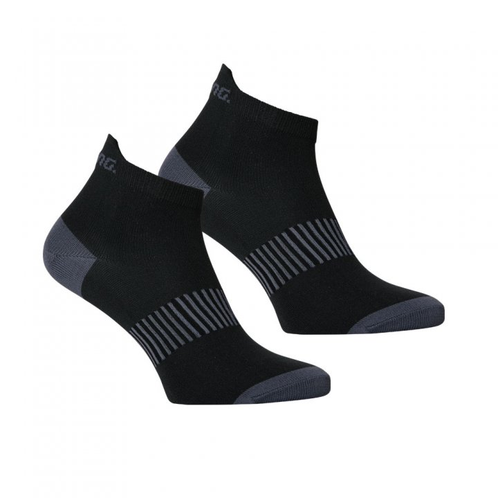 Salming Performance Ankle Sock 2p Black 35-38