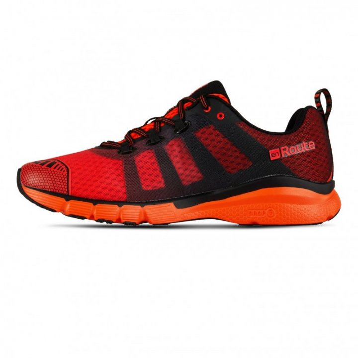 SALMING enRoute 2 Shoe Men Flame Red/Black  42
