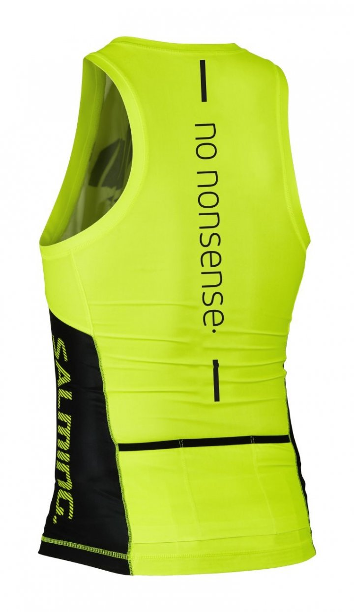 Salming Triathlon Singlet Men Yellow/Black L