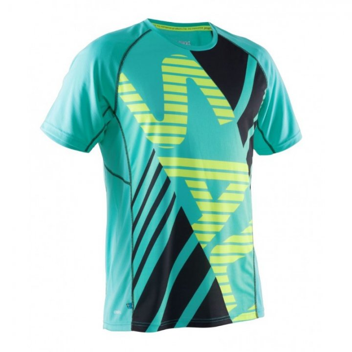Salming SS Tee Men Ceramic Green/Black M