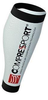 Compressport R2 V2 - kompresní návleky na lýtka bílé T 1