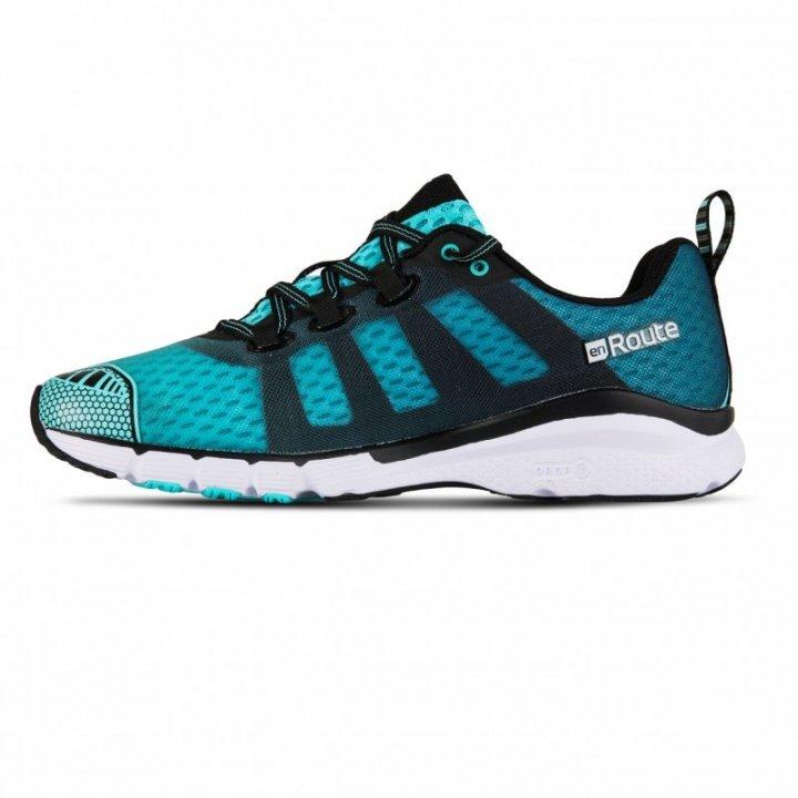 SALMING enRoute 2 Shoe Women Aruba Blue/Black 38
